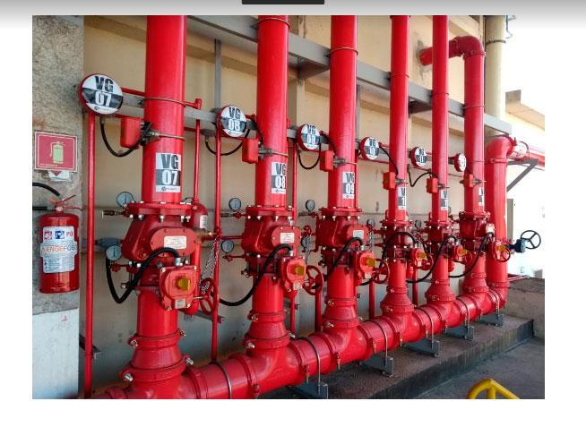 Equipamentos contra incêndio sp
