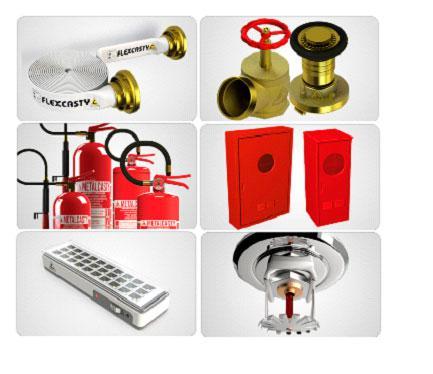 Instalação de sistema de alarme contra incêndio